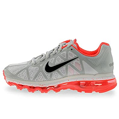 61aaf5edac Amazon.com | Nike Wmns Air Max 2011 Grey Solar Red Womens Running Shoes  429890-061 [US size 7.5] | Shoes