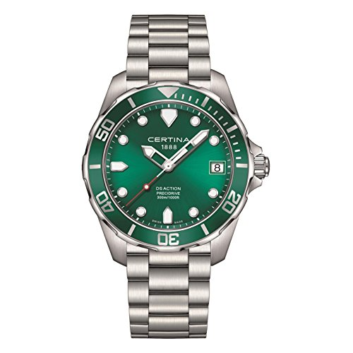 Certina C032 green