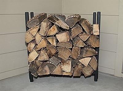 The Woodhaven 2 Foot Fireside Firewood Rack