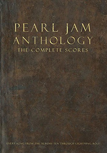 Pearl Jam Anthology - The Complete Scores: Deluxe Box ()