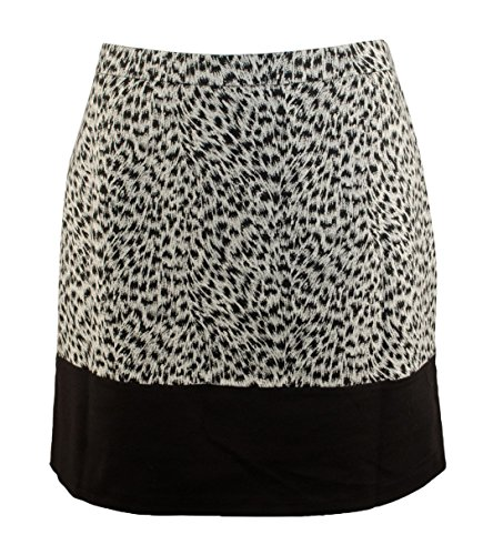 Leopard Print Mini Skirt - 6