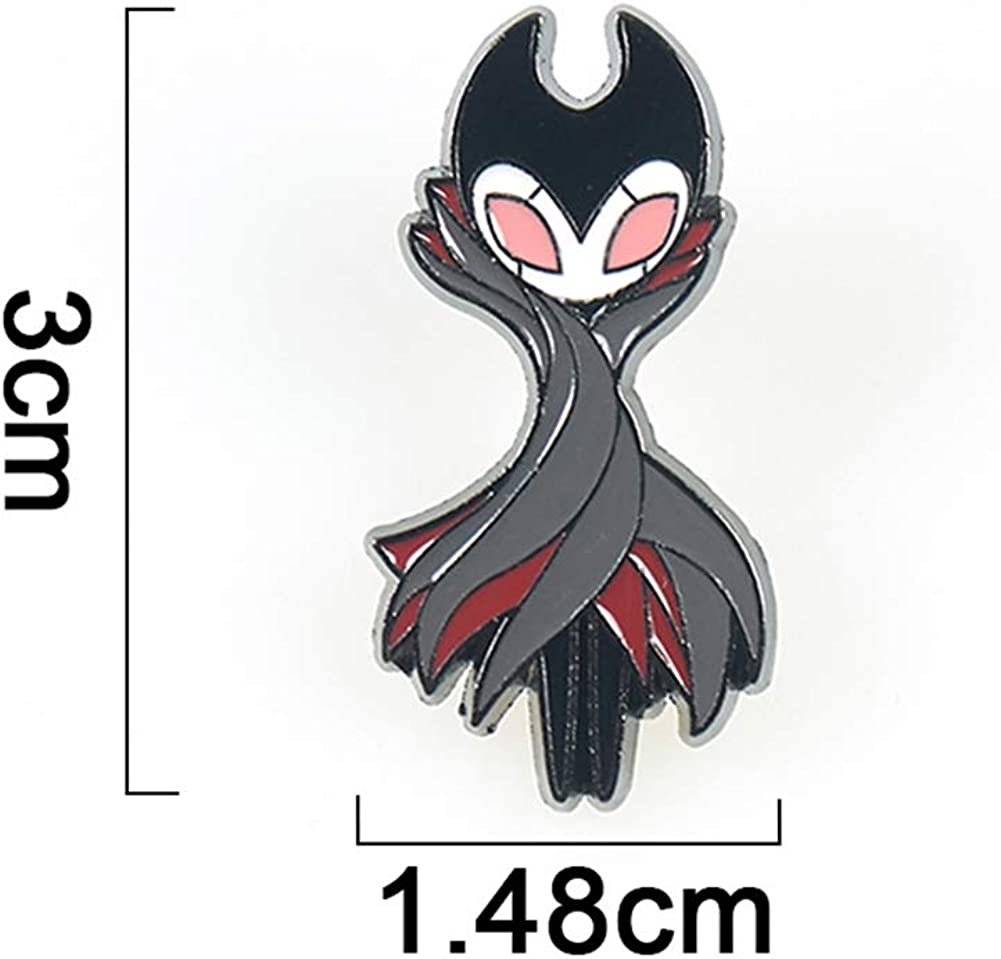 Game Hollow Knight Mens Collar Pins Broochs Backpack Bag Suit Badges