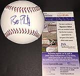 Brett Phillips Milwaukee Brewers Autographed Signed MLB Baseball JSA SIGNATURE DEBUT COA