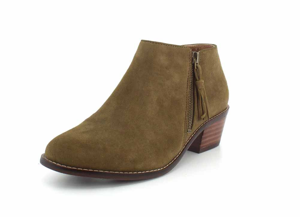 Vionic with Orthaheel Serena Women's Boot B072MP4M9N 8.5 B(M) US|Olive