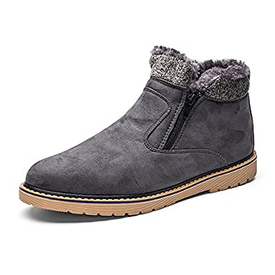 Amazon.com | VENSHINE Mens Womens Winter Snow Boots Fur