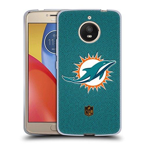 Miami Dolphins Football Case (Official NFL Football Miami Dolphins Logo Soft Gel Case for Motorola Moto E4 Plus)