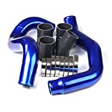 Turbo Intercooler Pipe Kit CAC Tubes and Boot Kit for 2003-2007 Ford 6.0 Powerstroke Diesel 6.0L F250 F350 F450 F550