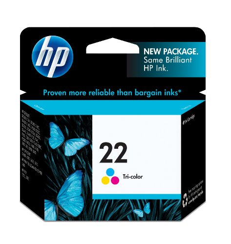 HP 22 Tri-color Original Ink Cartridge (C9352AN) (5610 One All In Printer)