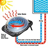 Goplus Solar Dome Swimming Pool Heater Above