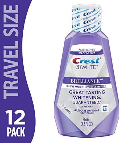 Crest 3D White Brilliance Rinse 1.2oz - (Pack of 12)