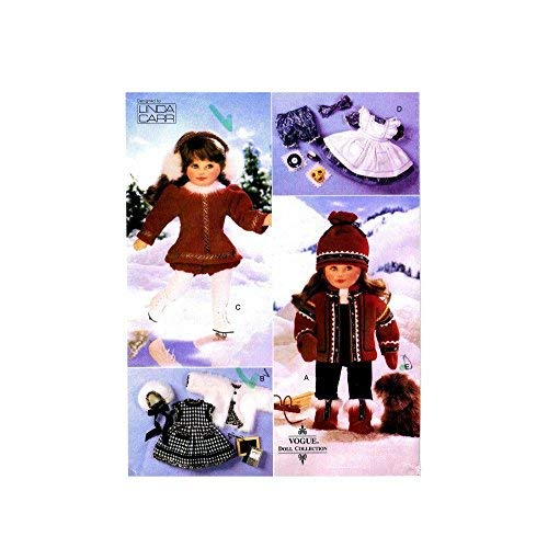 Vogue 9579 - 18-Inch Doll Winter Wardrobe - Patterns for 4 Outfits (Vogue Doll Collection, Also sold as Vogue 590)