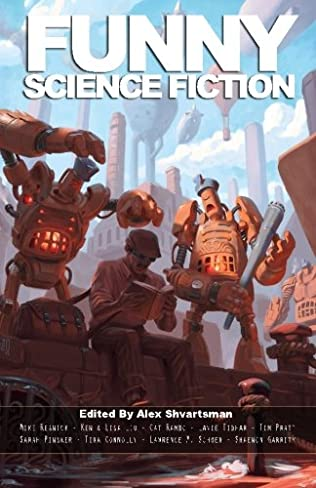 book cover of Funny Science Fiction