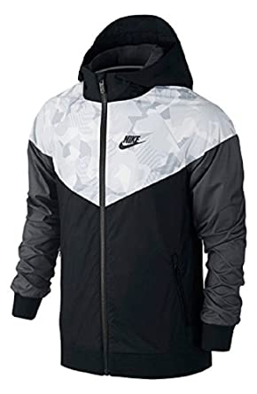 280cac8a07 Nike Sportswear Windrunner Big Kid's (Boy's) Full-Zip Jacket 804931-013 (