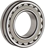 SKF Explorer Spherical Roller Bearing, Straight Bore, Pressed Steel Cage, CN Clearance, Metric