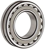 SKF 22205 E Explorer Spherical Roller Bearing, Straight Bore, Standard Tolerance, Steel Cage, Normal Clearance, Metric, 25mm Bore, 52mm OD, 18mm Width, 17000rpm Maximum Rotational Speed, 9900lbf Static Load Capacity, 11000lbf Dynamic Load Capacity