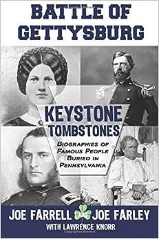 Keystone Tombstones - Battle of Gettysburg: Biographies of Famous People Buried in Pennsylvania