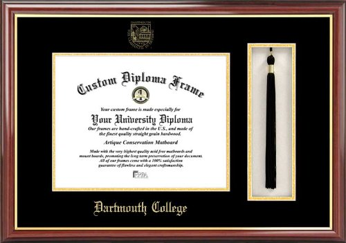 Campus Images ''Dartmouth College Tassel Box and Diploma'' Frame, 12'' x 16''
