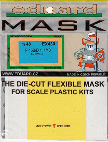 F-15d Eagle - Eduex430 1:48 Eduard Mask - F-15b F-15d Eagle (for Use With The Great Wall