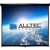"""Alltec Screens ATS-M92HB Manual HDTV Projector Screen 92"""" Diag."""