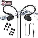Best Running Ear Phones - Avantree Secure Fit Waterproof Earbuds for Swimming, Headphones Review