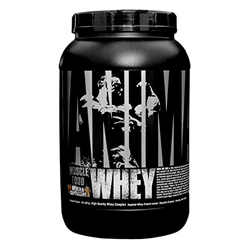 Cheap Universal Nutrition Animal Whey Mocha Cappuccino Protein Blends, 2 Pound