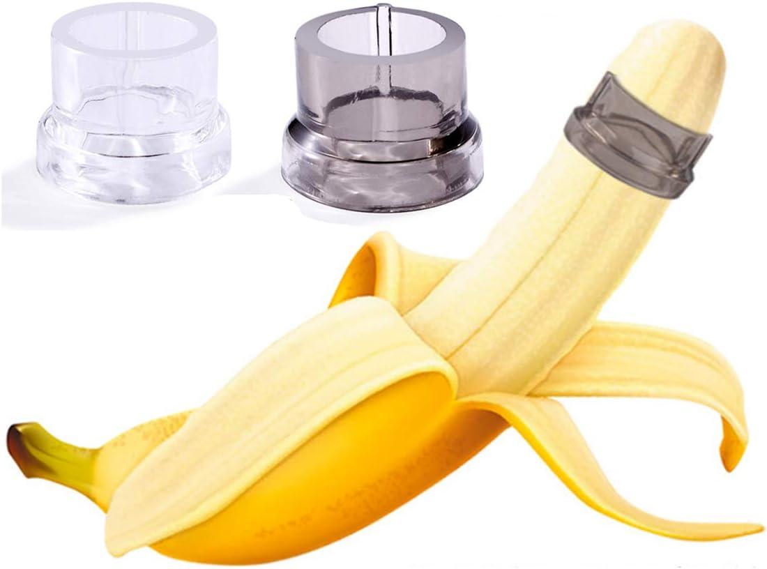 2 Pcs D??? Color Random Flexible Lock Fine Silicone Banana????s?