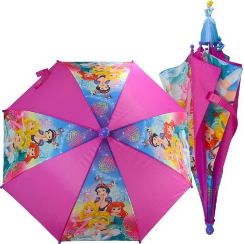 Umbrella - Disney - Princess Molded Handle Kids/Youth New PRMUM ()