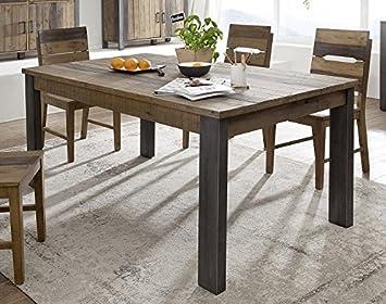 Outdoor Küche Aus Altem Holz : Main möbel esstisch 160x90cm lugano altholz massiv: amazon.de