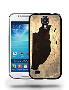 Belize National Vintage Country Landscape Atlas Map Phone Case Cover Designs for Samsung Galaxy S4