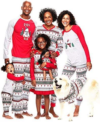 Christmas Family Pajamas Set.Janjunsi Christmas Family Pajamas Sets Parent Child Xmas