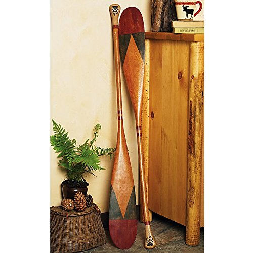 Antique Style Canoe Paddle - Wilderness Decor by Black Forest Decor (Image #1)