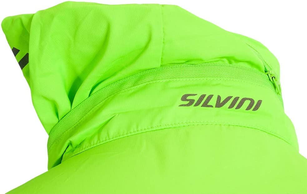SILVINI Mens Vetta Windproof Jacket with Removable Sleeves and Drawstring Waist