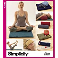 Simplicity 3583 Sew Pattern YOGA ACCESSORIES Bag, Pillow, Bolster & More