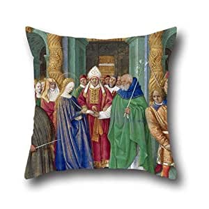 Throw pillow case 16 x 16 inch 40 by 40 cm 2 for Living room 8 place jean rey