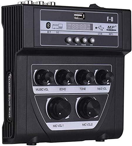 Mini mixer per karaoke microfono stereo mixer audio Echo mixer per casa e esterni