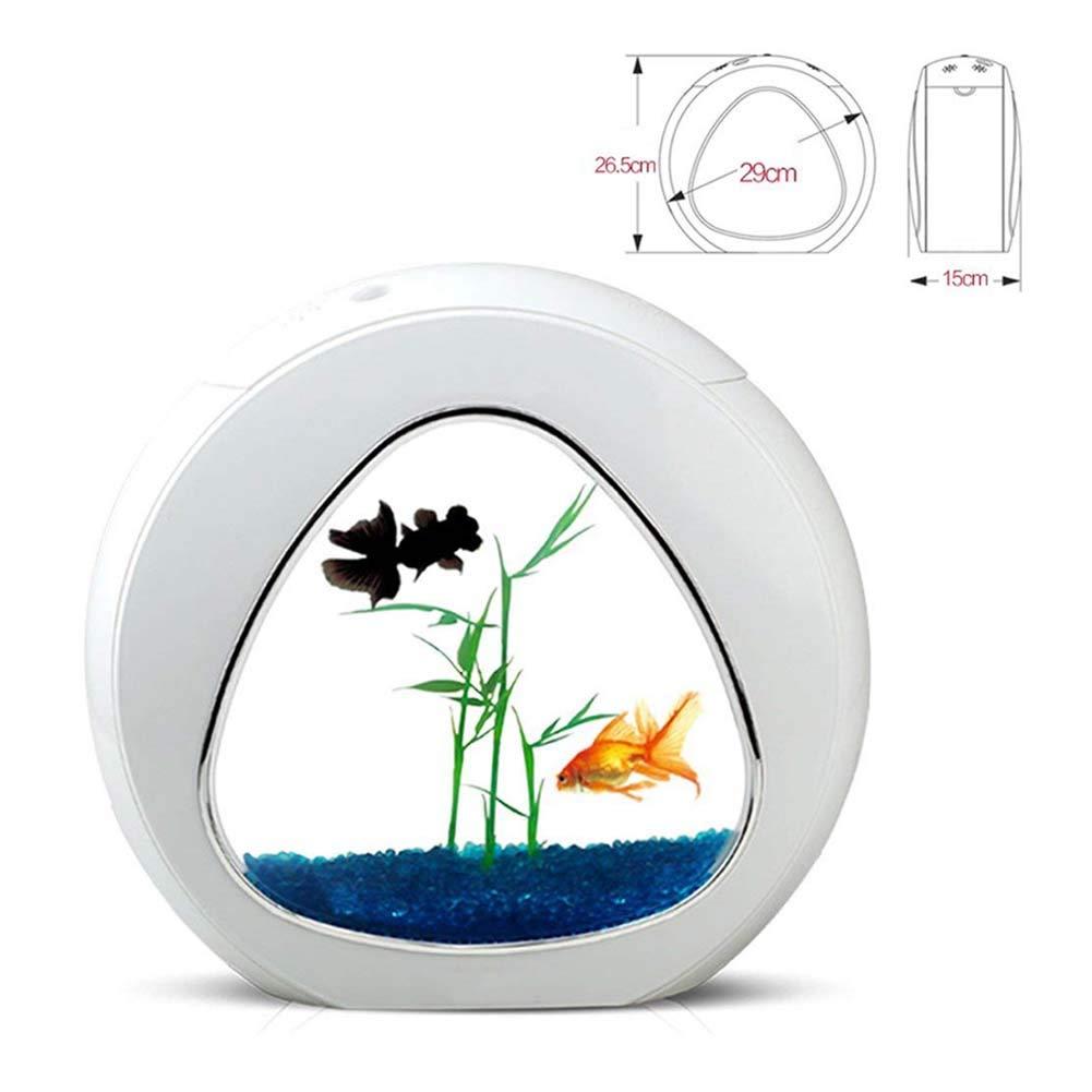 DJLOOKK Acquario per Pesciacquario Acrilico Creative Creative Creative Desktop Acquario Ecologico Piccolo Acquario Ornamentale per Pesci Rossi Adatto per L'allevamento di Piccoli Pesci 241b1a