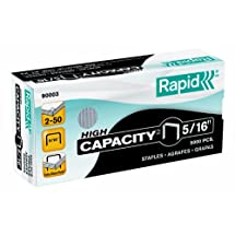 Rapid 90003 5/16-Inch Staples for K1 Pliers, 5,000 Per Box