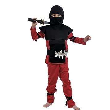 Limit Sport - Disfraz de samurái rojo para niños (MI951): Amazon ...