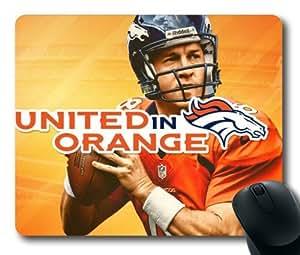 Peyton Manning Denver Broncos NFL Super Star Mouse Pad/Mouse Mat Rectangle by ieasycenter