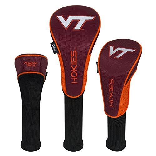 (Team Effort Virginia Tech Hokies Set of Three Headcovers)