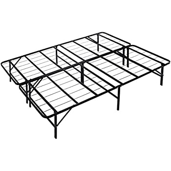 Amazon Com Amazonbasics Foldable Metal Platform Bed Frame