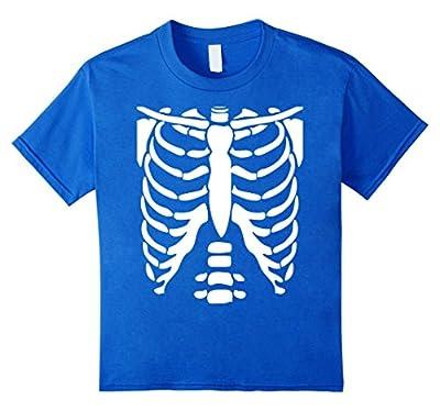 SKELETON SHIRT | Halloween Costume Rib cage Anatomy T-Shirt