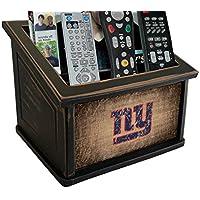 Fan Creations N0765-NYG New York Giants Woodgrain Media Organizer, Multicolored