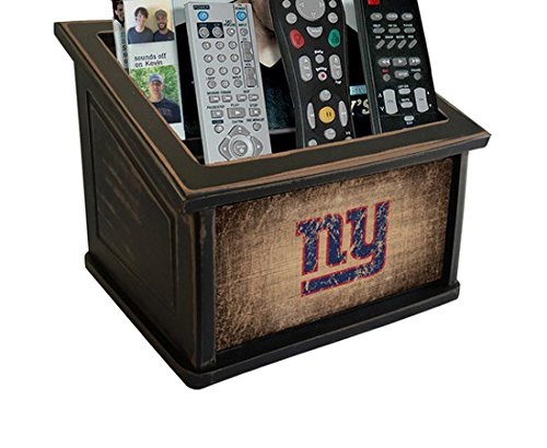 Fan Creations N0765-NYG New York Giants Woodgrain Media Organizer, Multicolored by Fan Creations