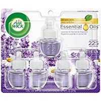 Air Wick Scented Oil 5 Refills Lavender & Chamomile Air Freshener 5X0.67oz