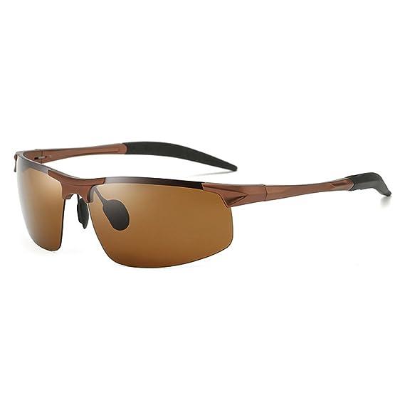 LBY Gafas De Sol Polarizadas del Marco Metálico De Los ...