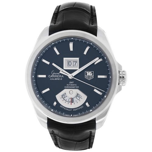 Grande Date Watch - TAG Heuer Men's WAV5111.FC6225 Grand Carrera Grand Date GMT Watch
