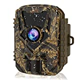 HOLLYWTOP Mini Trail Game Camera 20MP 1080P Waterproof 0.4s Trigger Speed Hunting Cams