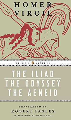 Iliad, Odyssey, and Aeneid box set: (Penguin Classics Deluxe Edition) from Virgil/ Homer/ Fagles, Robert (TRN)