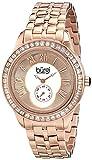 Burgi Women's BUR106RG Analog Display Swiss Quartz Rose Gold Watch